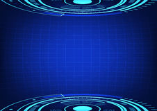 Abstract business circle background. Rgb mode Royalty Free Stock Images