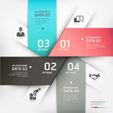 Abstract Business circle banner. Royalty Free Stock Photos