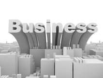 Abstract Business City Stock Photos