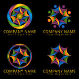 Abstract Business and Consulting Logo Royalty Free Stock Photo