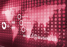 Abstract business digital background. Digital background image presenting modern business concepts Royalty Free Stock Photography