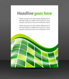 Abstract business flyer for design, corporate banner Stock Images