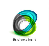 Abstract business icon Stock Photo