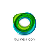 Abstract business icon Royalty Free Stock Photos