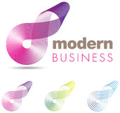 Abstract business icon Royalty Free Stock Photo