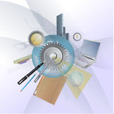 Abstract Business Illustration Stock Image