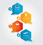 Abstract Business Infographics Options Template. Abstract Business Infographics Options Template Royalty Free Stock Image