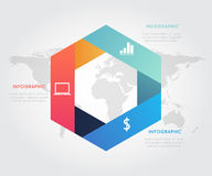 Abstract Business Infographics Options Template. Abstract Business Infographics Options Template Stock Photo