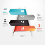 Abstract business infographics template. Royalty Free Stock Image