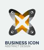 Abstract business logo Royalty Free Stock Photos