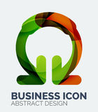 Abstract business logo Royalty Free Stock Photography
