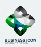 Abstract business logo Royalty Free Stock Photo