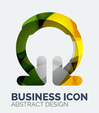 Abstract business logo Stock Images