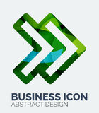 Abstract business logo Stock Photography