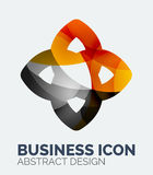 Abstract business logo Royalty Free Stock Image