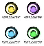 Abstract business logos Royalty Free Stock Photography
