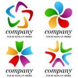 Abstract Business Logos Set [1] Royalty Free Stock Photos