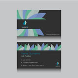 Abstract business name card Royalty Free Stock Photos