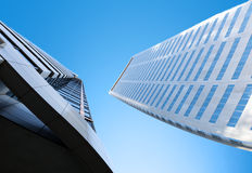 Abstract business office skyscraper Stock Photos