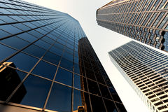 Abstract business office skyscraper Stock Images