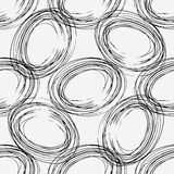 Abstract business pattern seamless. Abstract black and white background.  Blots for your design Royalty Free Stock Photography