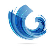 Abstract business symbol Royalty Free Stock Image