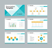 Abstract business template presentation background Royalty Free Stock Image