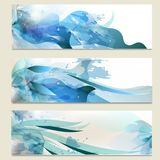 Abstract business vector cards set for design Royalty Free Stock Image