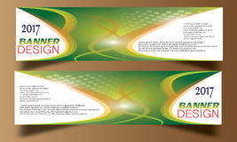 Abstract business wave banner header backgrounds . Stock Photography
