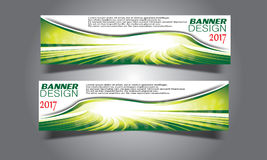 Abstract business wave banner header backgrounds . Stock Photo