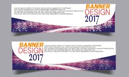Abstract business wave banner header backgrounds . Stock Images
