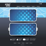 Abstract business web site design template Stock Photos