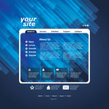 Abstract business web site design template vector Royalty Free Stock Image