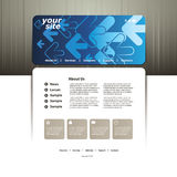 Abstract Business Web Site Design Template Vector Royalty Free Stock Photo