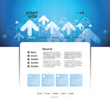 Abstract Business Web Site Design Template Vector Royalty Free Stock Images
