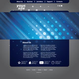 Abstract Business Web Site Design Template Vector Stock Images