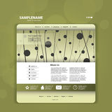 Abstract Business Web Site Design Template Vector Royalty Free Stock Photos