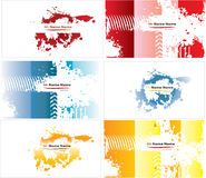 Abstract businesscards Stock Image