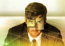 Abstract businessman Stock Image