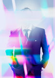 Abstract businessman concept Royalty Free Stock Images