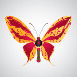 Abstract butterfly Royalty Free Stock Image