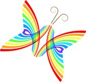 Abstract butterfly. A beautiful drawing design of abstract butterfly vector illustration