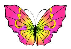 Abstract Butterfly Royalty Free Stock Photography