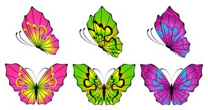 Abstract Butterfly Royalty Free Stock Photos