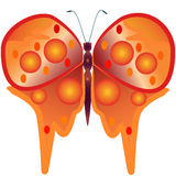 Abstract butterfly. Stock Photos