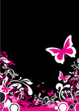 Abstract butterfly background Royalty Free Stock Photo
