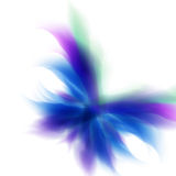 Abstract butterfly background Stock Image