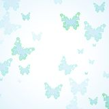 Abstract Butterfly background Stock Images