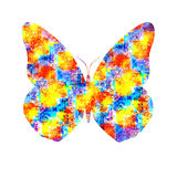 Abstract butterfly Royalty Free Stock Images