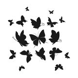 Abstract the butterfly6 Royalty Free Stock Photography